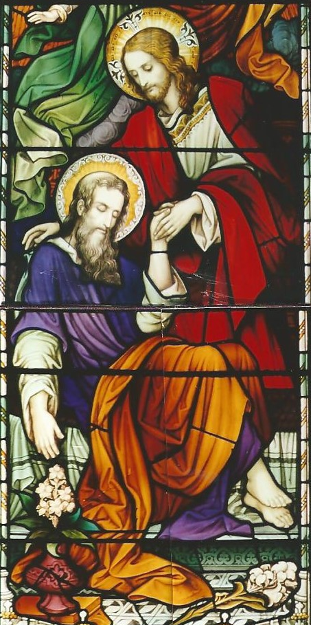 St Joseph Window Ballybrown Church